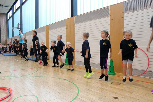 TSV Puzzleturnen2016 Warmup